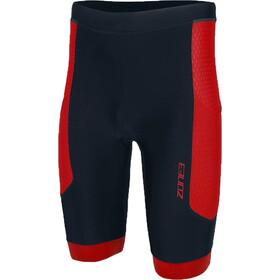 Zone3 Aquaflo Plus Korte Broek Heren, zwart/rood